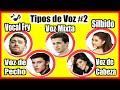 Gambar cover TIPOS DE VOZ #2 - Registros Vocales - Vocal Fry - Voz de Pecho - Voz Mixta - Voz de Cabeza