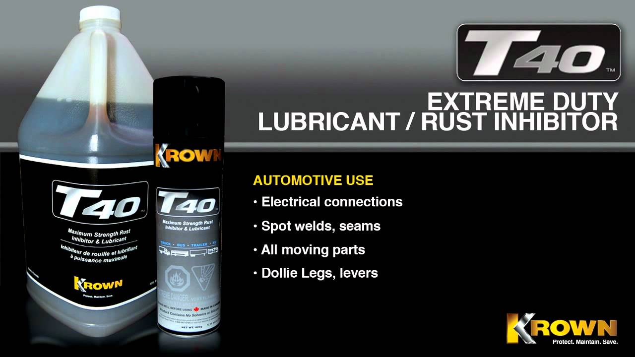 How To Stop Rust >> Krown Rust - T40 Promotional Piece - YouTube