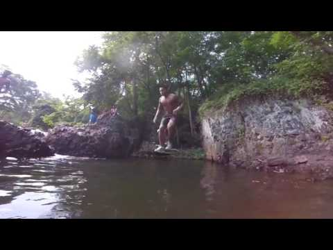 Watchung Reservation/ Cliff jumping 2017