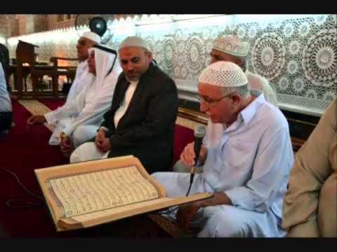 تلاوة عطرة للحاج الشيخ عبد المعز شاكر أواخر القمر والرحمن