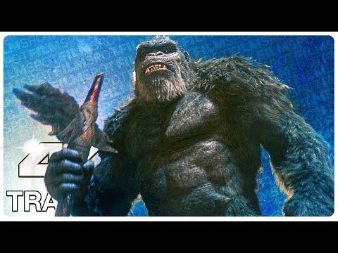 GODZILLA VS KONG Trailer (4K ULTRA HD) NEW 2021