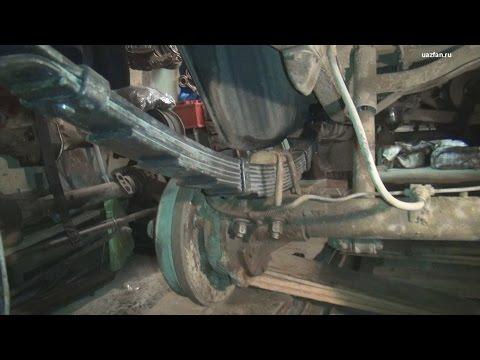 Будни #3 Замена задних рессор на 9 листовые (в гаражных условиях)