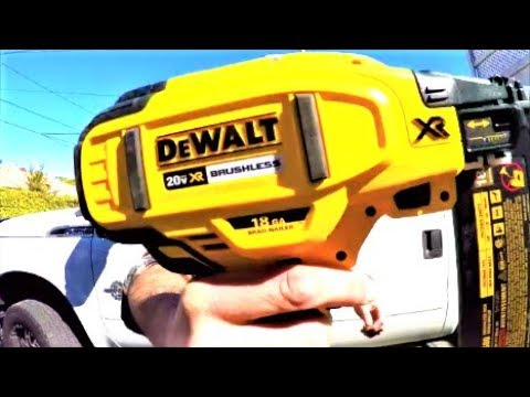 Dewalt Dcn692 Xr 18v Li Ion Nailer Its Tv Doovi
