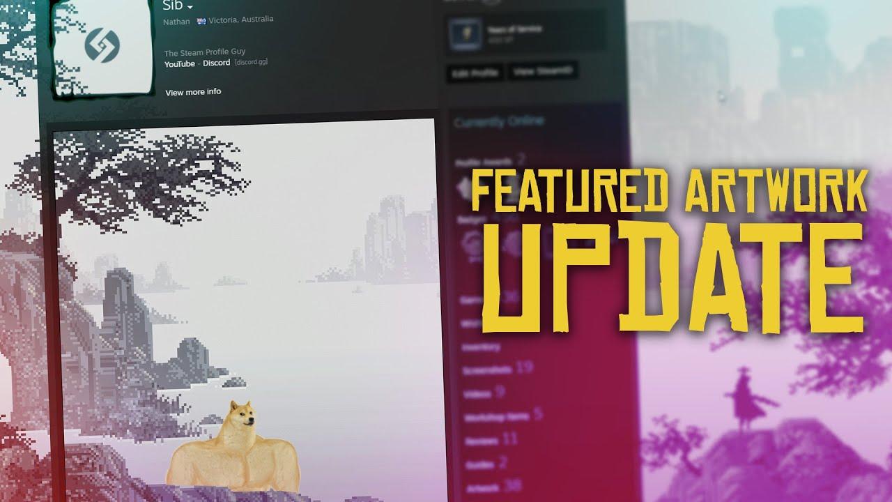 Featured Artwork Showcase Update Steam Artwork Youtube