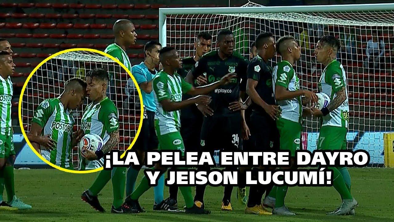 فيديو.. طرد لاعب ضرب زميله في كولومبيا