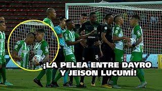 VIDEO: El cabezazo de Jeison Lucumí a Dayro Moreno en Nacional-Cali