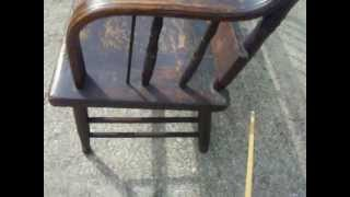 1820s Deacon's Bench For Sale!