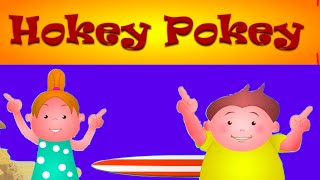 Hokey Pokey Song With Lyrics - Nursery Rhymes For Children