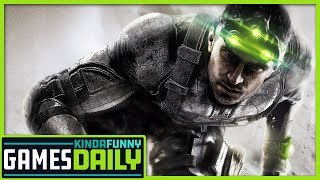 Splinter Cell Reveal Is Just A Joke   - Kinda Funny Games Daily 05.15.19
