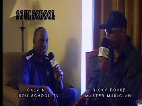 Soul School Television - Interview w/Detroit Musician Ricky Rouse - Pt.2 - Taped 5/10/14