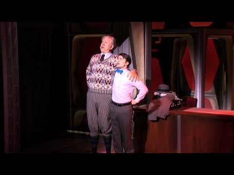 HOW TO SUCCEED... Grand Old Ivy with Daniel Radcliffe and John Larroquette