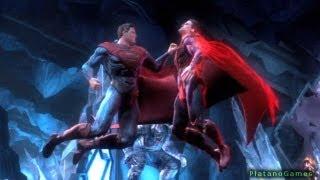Injustice: Gods Among Us - Man of Steel vs Superman - Superman Classic Battle - Part 10 - HD