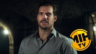 MISSION IMPOSSIBLE Henry Cavill discusses halo jumps and other stunts