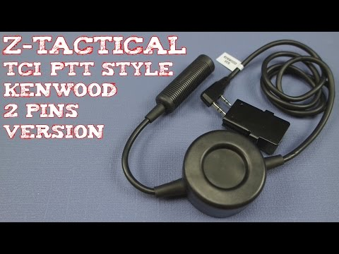 (Review) Z-Tactical TCI Style PTT for Radio & Headset