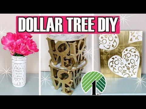 💗 DOLLAR TREE DIY 💗  LOVE VALENTINE'S DAY DECOR