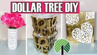 💗 DOLLAR TREE DIY 💗  LOVE VALENTINE'S DAY DECOR