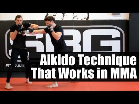 Aikido That Works in MMA • Aikido Kotegaeshi in MMA • Martial Arts Journey