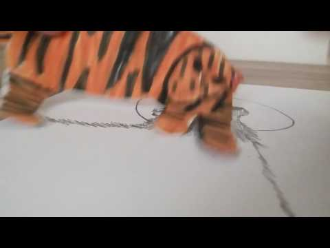 Рисунки карандашом. Целующиеся волки