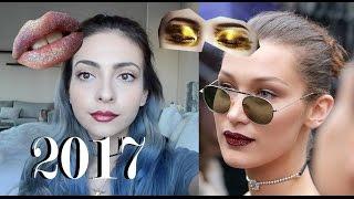 Tendencias del maquillaje del 2017| Anna Sarelly