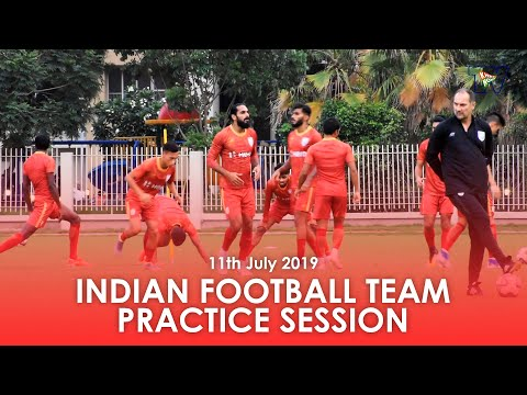 Indian Football Team Training Session | Hero Intercontinental Cup 2019 | 11th July 2019