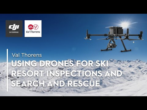 Using Drones to Improve Val Thorens' Ski Operations