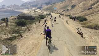 GTA5 1인칭 자전거 자전거 레이스 / GTA5 first person bicycle race