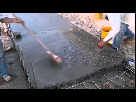 Concreto lavado youtube - Como hacer un piso de hormigon ...