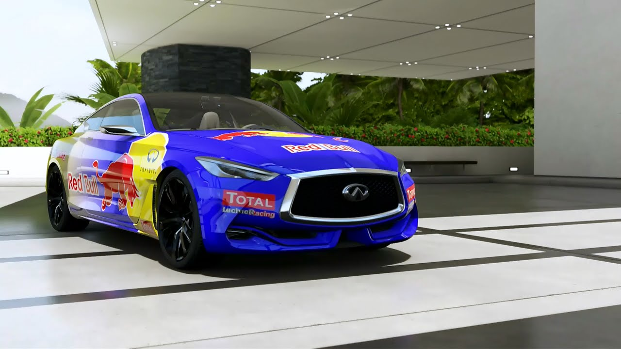 Forza 6 New Free Car 2015 Infiniti Q60 Concept Youtube