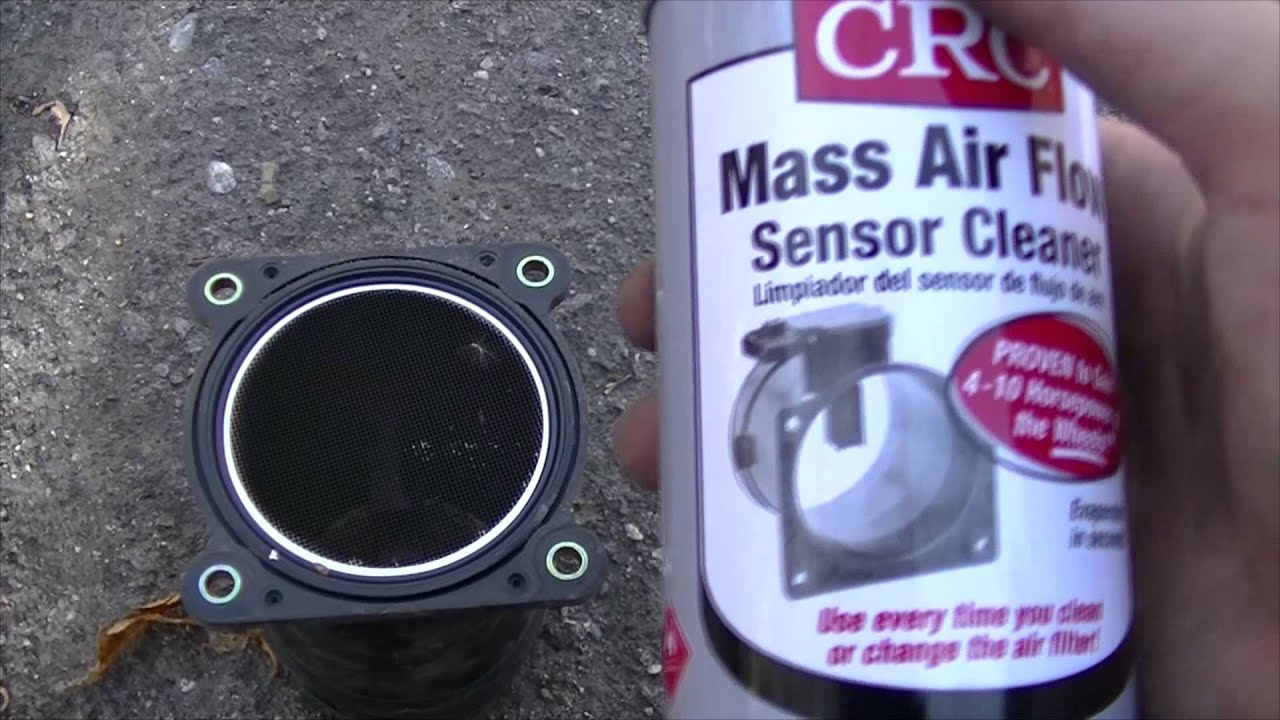 2002 Nissan Maxima How To Clean The Maf And Throttle Body