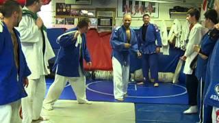 danny h and bryan k blue belt celebration 4 11 tenbears martial arts academy dayton ohio