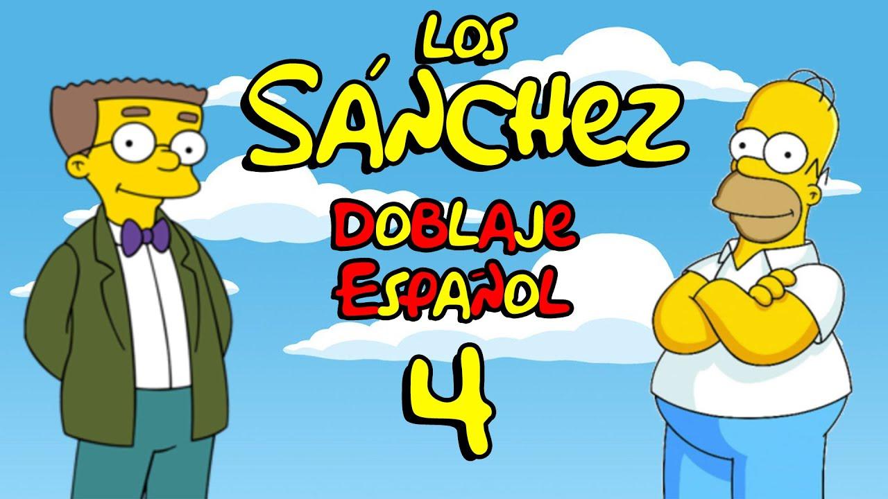Los Sánchez (versión española de Los Simpsons) - Doblaje cutre parodia