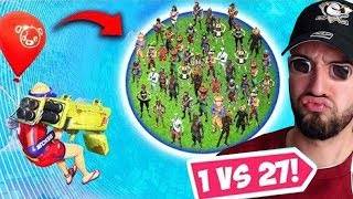 NEUER WELTREKORD 1vs27 in Fortnite Battle Royale 😍😱