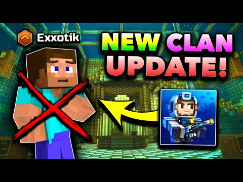 CLANS WILL NEVER BE THE SAME... | Pixel Gun 3D - New Update 17.7.0 [Review]