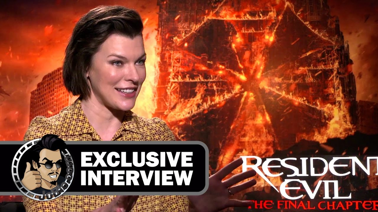 Resident Evil The Final Chapter Interview: Milla Jovovich Exclusive RESIDENT EVIL: THE FINAL CHAPTER