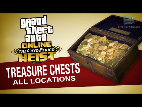 GTA Online - All Treasure Chests Locations [Cayo Perico Coll