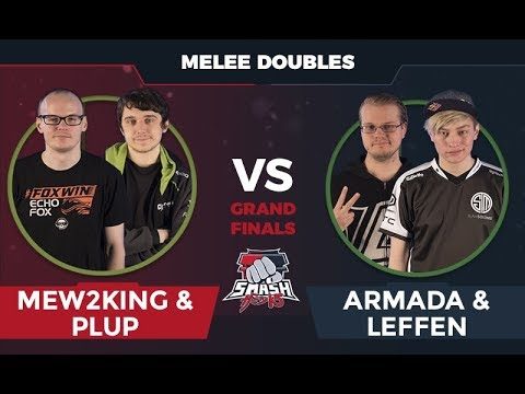 Mew2King/Plup vs Armada/Leffen - Melee Doubles: Grand Finals - Smash Summit 5
