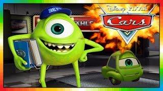 cars monster inc star mike wazowski in mcqueen game cars mater international monster ag