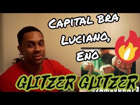 Capital Bra feat. Luciano & Eno - Roli Glitzer Glitzer REACTION
