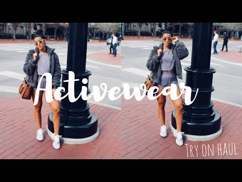 ACTIVEWEAR TRY ON HAUL + REVIEW