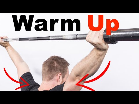 The BEST Shoulder Warm Up (Move better & LIFT MORE WEIGHT)