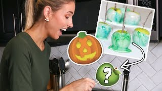 I Tried VIRAL HALLOWEEN TREATS / HACKS... did they work?!