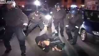 Police brutality or necessary violence?