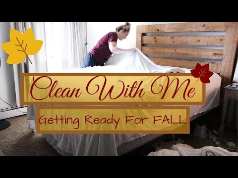 🍁ENTIRE APARTMENT CLEAN WITH ME \\ EXTREME CLEANING MOTIVATION \\GETTING READY FOR FALL\\CLEAN 2019