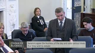 Senator Ian Marshall | Seanad Order of Business 27 November 19