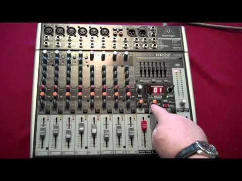 behringer xenyx x1204usb usb mixer