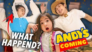 ANDY'S COMING Prank On Natalia!! (Everyone Pass Out!) | Ranz and Niana