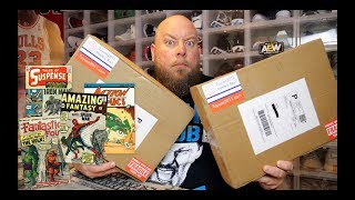 Unboxing Two $100 CGC Graded Comic Book Mystery Boxes with HUGE Potential Comics!