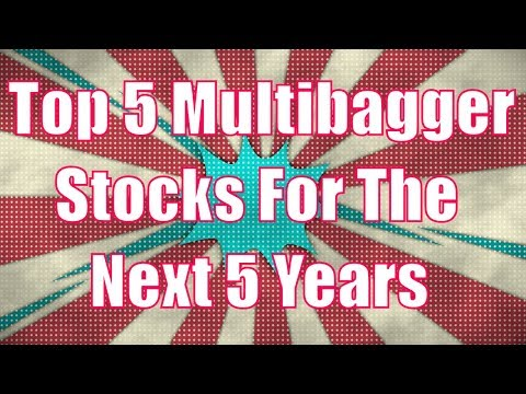 Top 5 Multibagger Stocks For The Next 5 Years