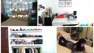 Guide to: The Ultimate Bedroom Makeover!! +before &after pic Thumbnail