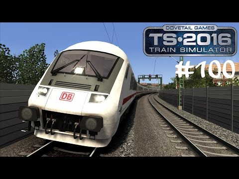 TS 2016 #100 IC von Berlin nach Leipzig ☆ Let's Play Train Simulator 2016